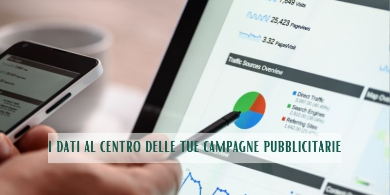 marketing datacentrico e le campagne pubblicitarie online
