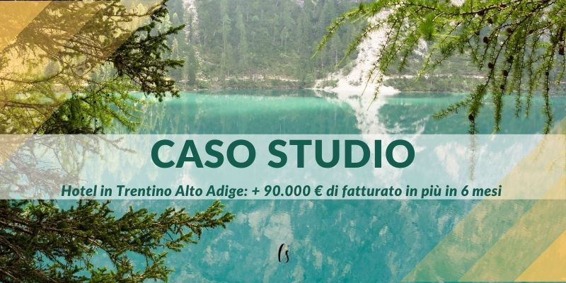 caso studio hotel adult only in trentino