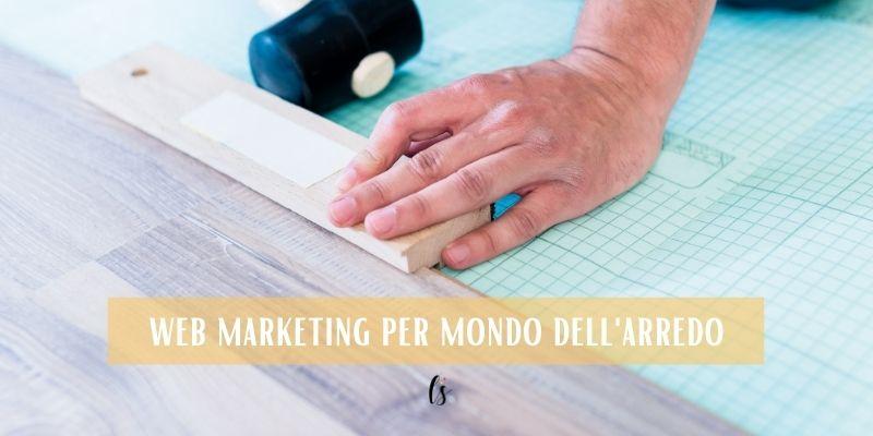 web marketing per mondo dell'arredo